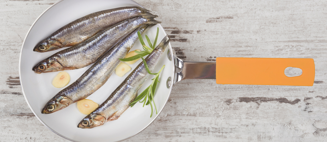 clean and fillet sardines