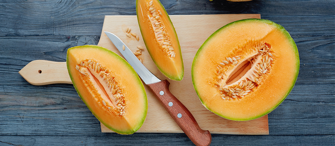 knife skills how to cut a cantaloupe