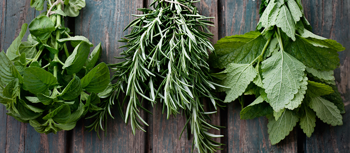 three ways to preserve fresh herbs