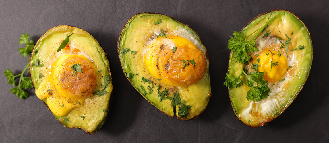 Eggs Baked in Avocado Recipes