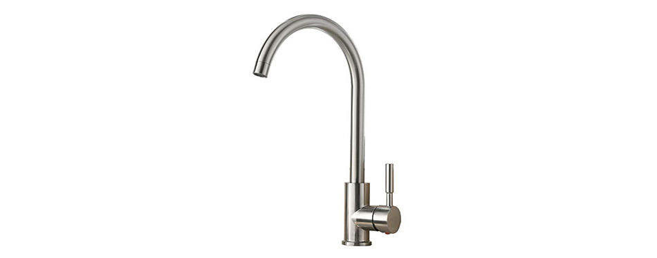 VAPSINT Steel Kitchen Sink Faucet