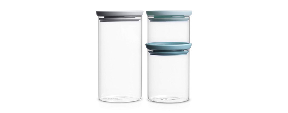 Brabantia Stackable Glass Food Storage
