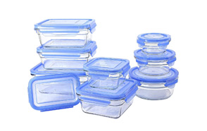 GlassLock Oven Safe Food Storage Containers