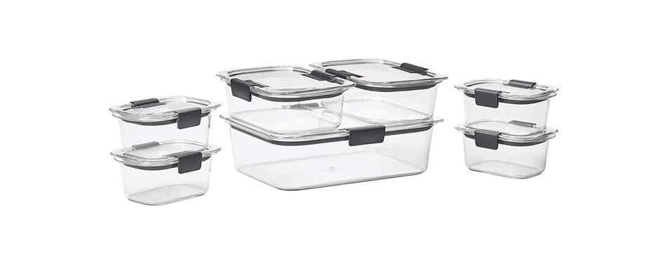 8. Rubbermaid Brilliance Food Storage Container