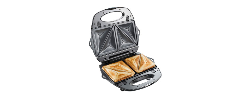 T fal SW6100 EZ Clean Nonstick Sandwich and Waffle Maker