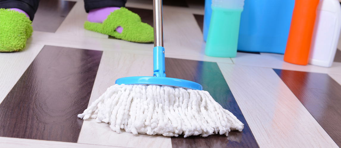 how to mop kitchen