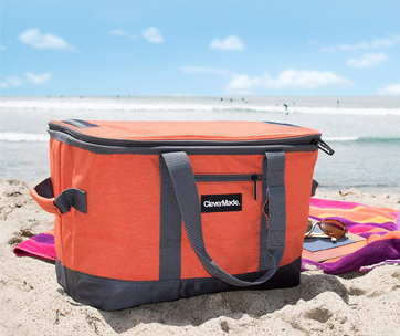 CleverMade SnapBasket Soft-Sided Collapsible Cooler