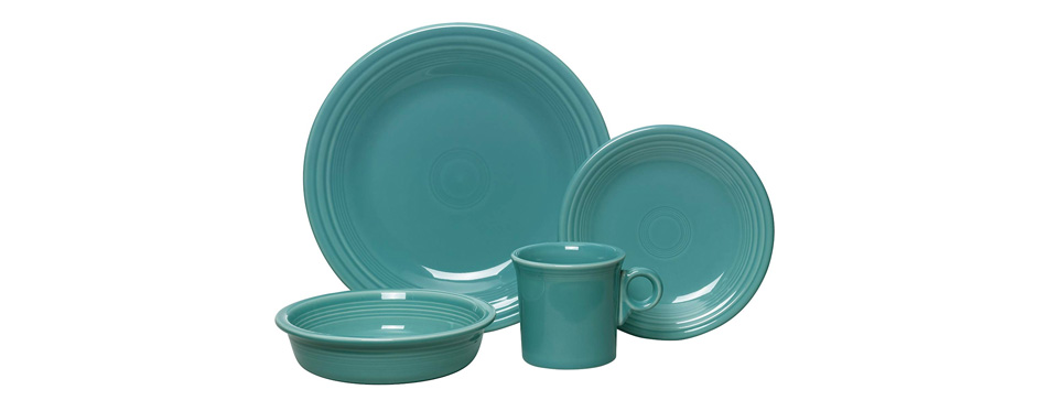 Fiesta 4-Piece Dinnerware Set