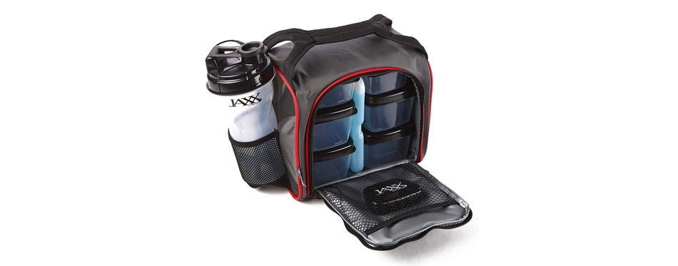 Fit & Fresh Original Jaxx FitPak Insulated Cooler Lunch Box