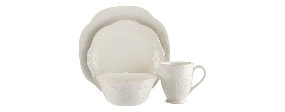 Lenox French Perle 4-Piece Dinnerware Set