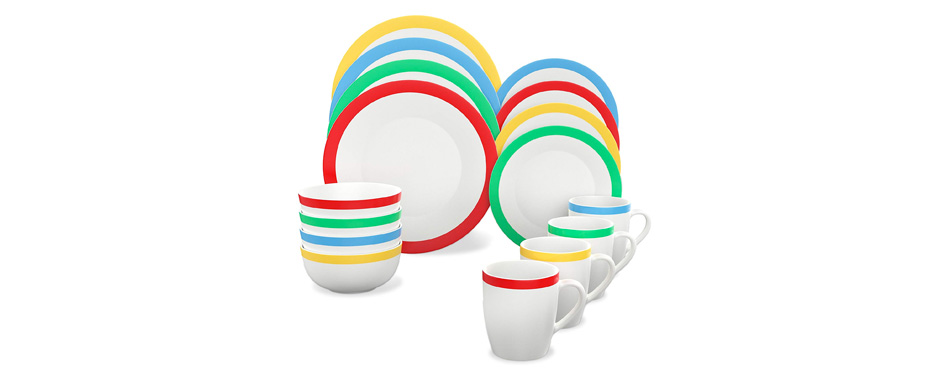 Vremi 16 Piece Dinnerware Set Service for 4