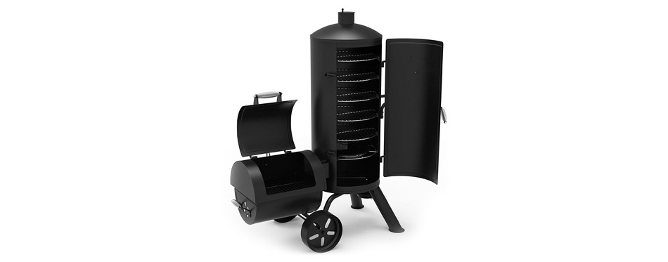 dyna-glo signature series charcoal smoker & grill