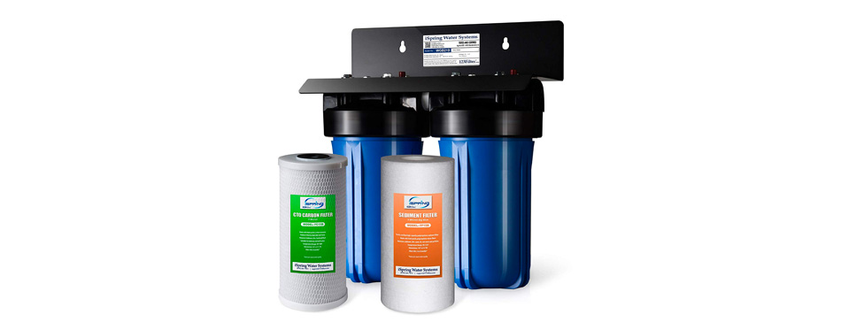 ispring 2-stage whole house water filter