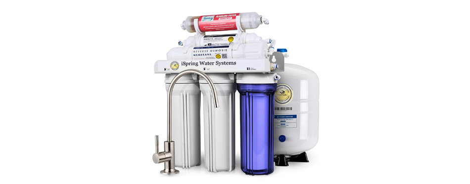 ispring 6-stage superb water filter system