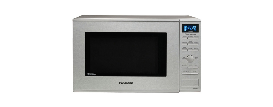 panasonic built-in microwave with inverter technology