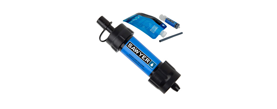 sawyer products mini water filter system