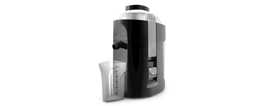 BLACK+DECKER 400-Watt Fruit and Vegetable Juice Extractor
