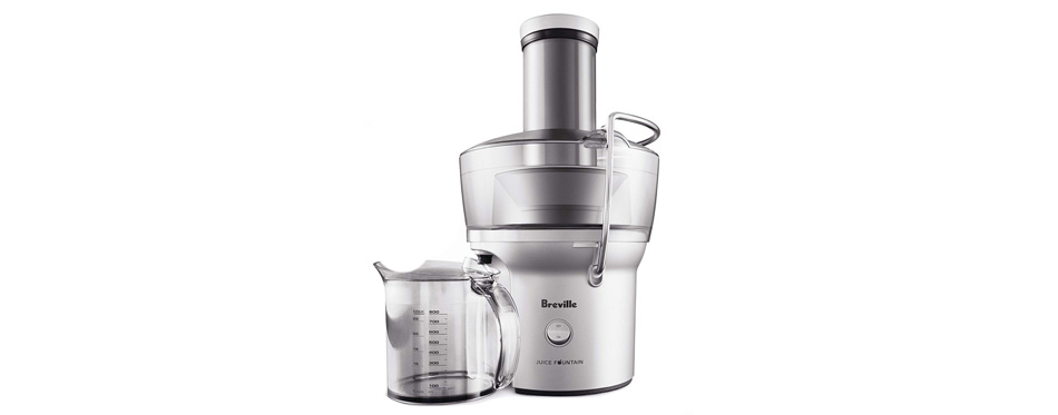 Breville Compact Juice Fountain Juicer Extractor