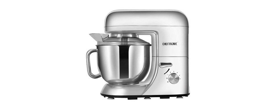 CHEFTRONIC SM986 Silver Standing Mixer