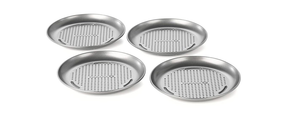 Calphalon Nonstick pizza pans with holes