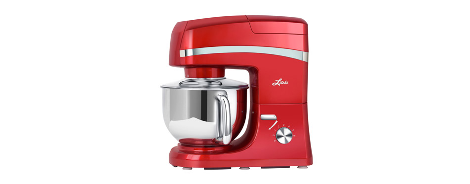 Litchi Quart Stand Mixer 6 Speed Tilt-Head Stand Mixer