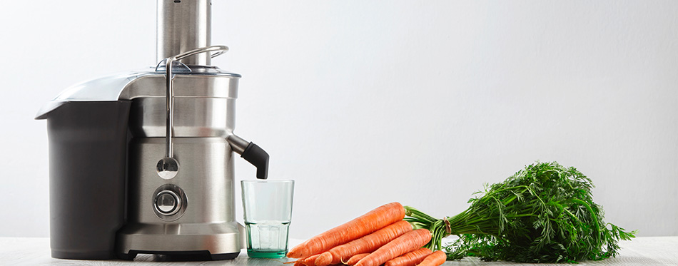 Metallic professional juicer