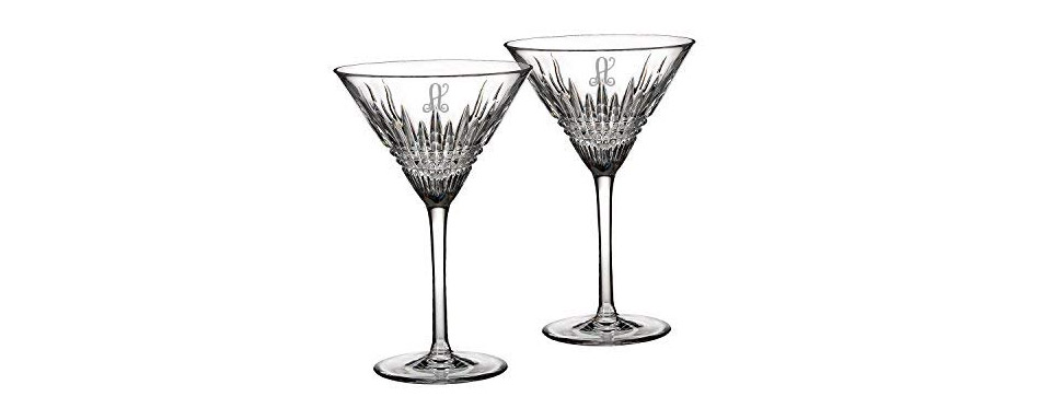 Waterford Crystal Lismore Diamond Martini Glasses