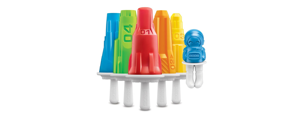 Zoku Space Popsicle Molds