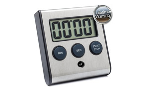eTradewinds Elegant Digital Kitchen Timer