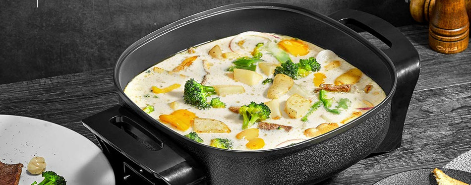 Non Stick Electric Frying Pan
