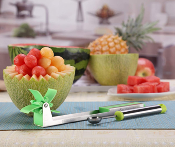 Yueshico Watermelon Slicer Cutter Knife
