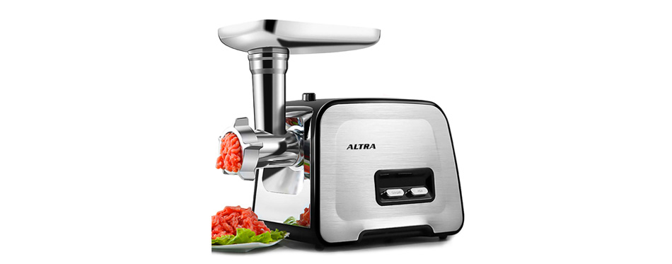 altra stainless steel meat grinder
