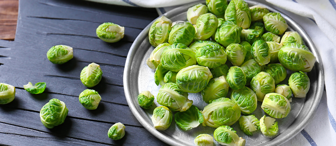 how to clean and cut brussels sprouts