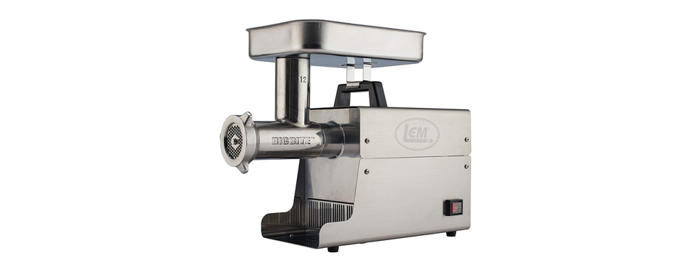 lem products stainless steel electric meat grinder