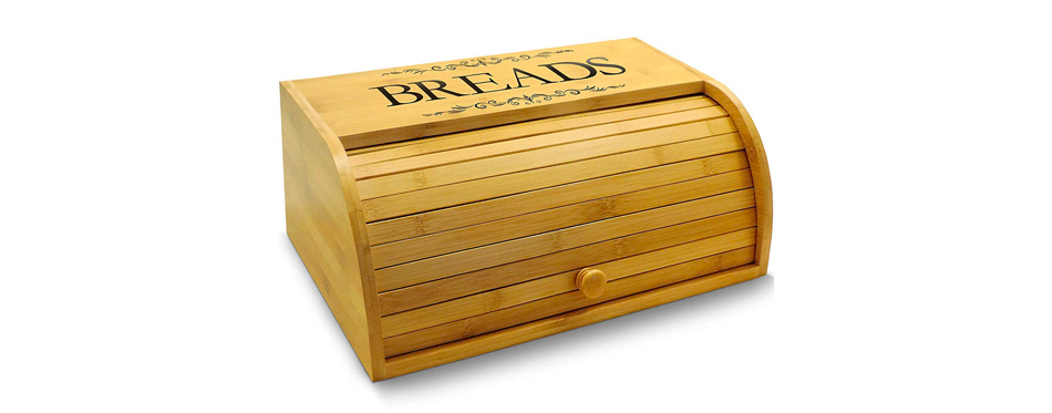 Cookbook People Original Rolltop Bread Box