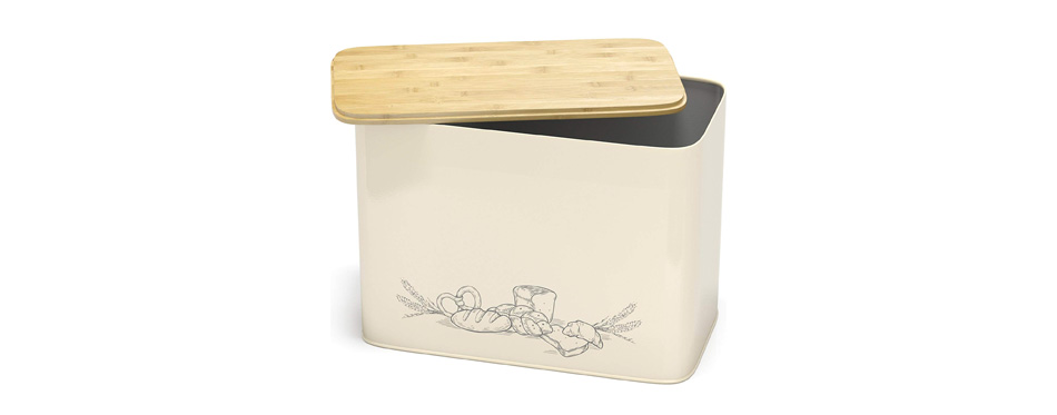 Cooler Kitchen Extra Large Vertical Bread Box
