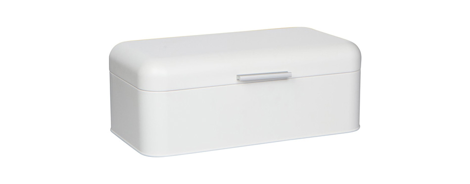 Culinary Couture Large White Bread Box