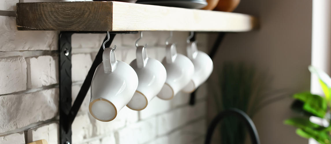 10 smart ways to organize your coffee cups