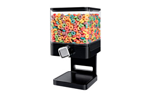 Zevro Compact Dry Cereal Food Dispenser