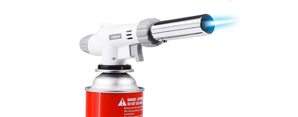 AOHEZI Professional Butane Cooking Torch