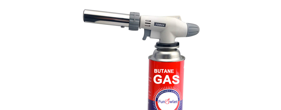 FunOwlet Butane Torch Kitchen Blow Lighter