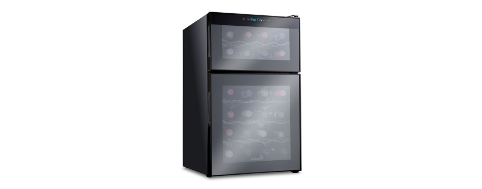 Ivation Dual Zone Thermoelectric Wine Chiller