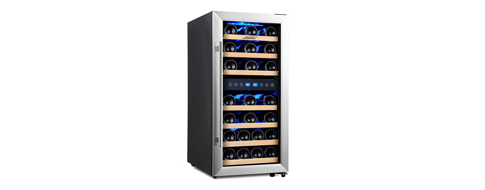 Phiestina Dual Zone Wine Cooler
