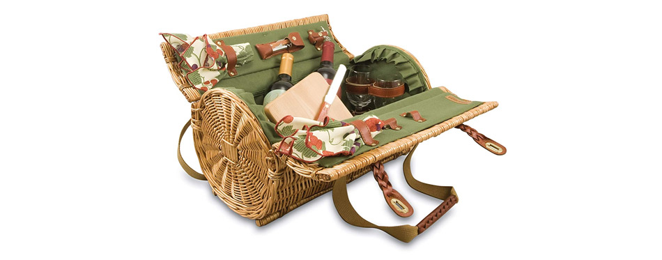 Picnic Time Verona Insulated Picnic Basket