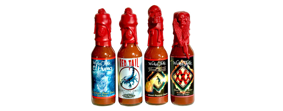 Wicked Tickle Hot Sauce Gift Set