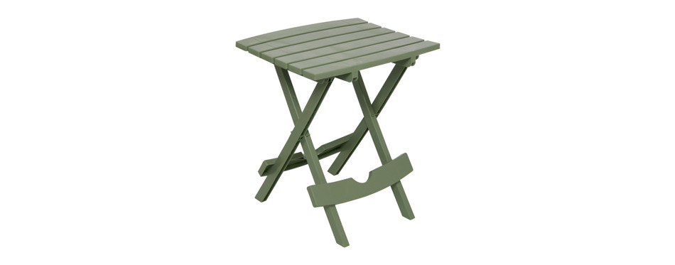 Adams Manufacturing Plastic Quik Fold Side Table
