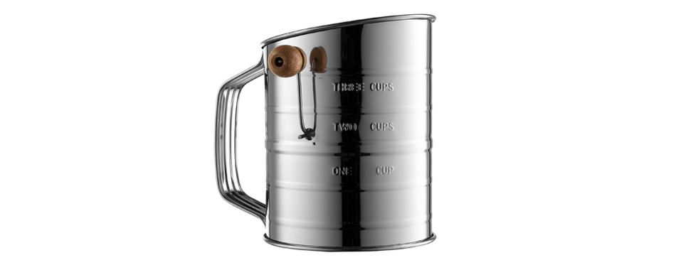 Epica Bellemain Stainless Steel Flour Sifter