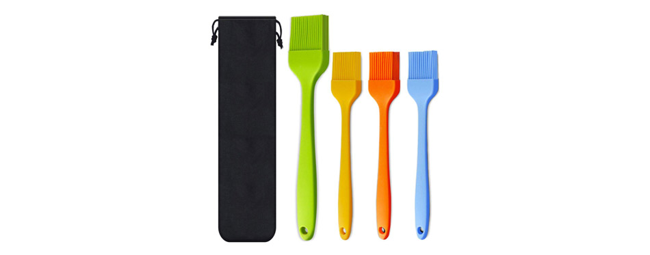 Consevisen Silicone Heat Resistant Pastry Brushes
