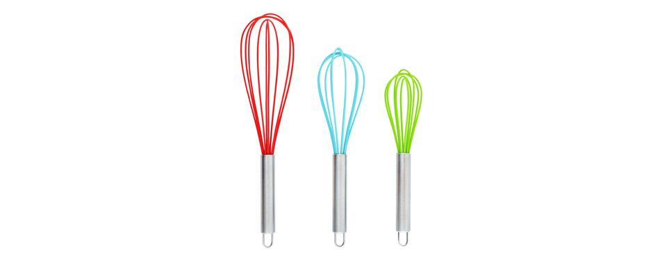 DRAGONN Multi Color Silicone Whisks