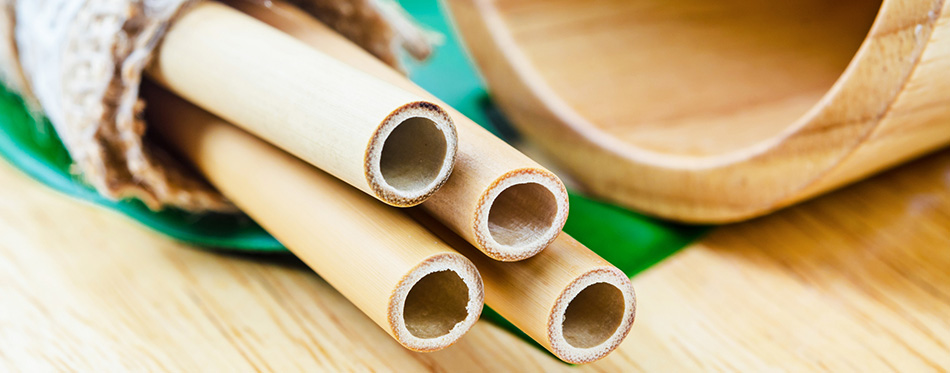 Ecological bamboo straws tube for drinking water